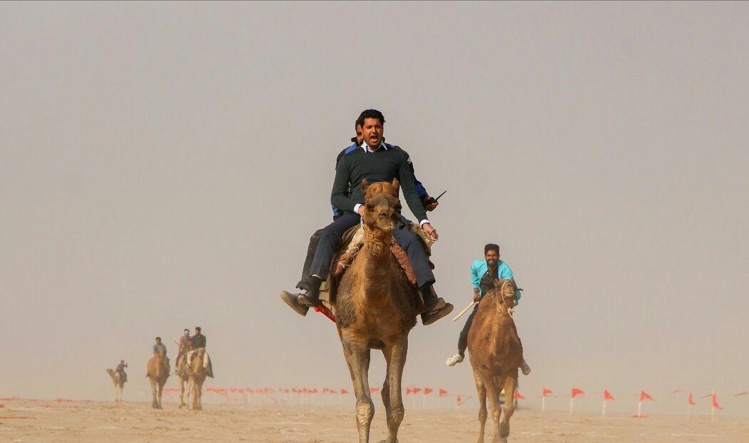 اولين جشنواره بازيهاي بومي و محلي و شتردواني در منطقه گردشگري دق اكبرآباد خوسف برگزار شد